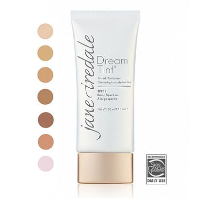 JANEiredale DreamTint Humectante con color SPF15